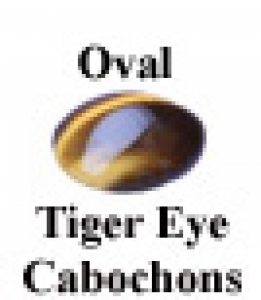 a26353 813-751-0604 6x4mm Oval Tiger Eye Cabochon Colors of gems will vary from the images due to individual monitor calibrations.