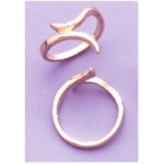 a13268 14kt Yellow Gold Ring Shank Finger Size 7