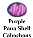 Purple Paua Shell Cabochon Example