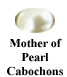 Mother of Pearl Cabochon Example