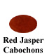 Red Jasper Cabochon Example