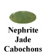 Nephrite Jade cabochon Example