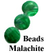 Malachite Bead Example