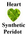 Example of Heart Shape Faceted Peridot