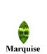 Example of Marquise Cut Faceted Peridot